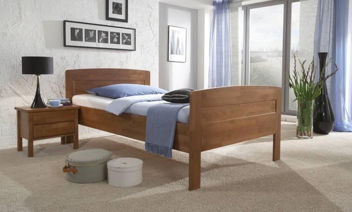 Komfortbett Massivholz 430.00 von Dico