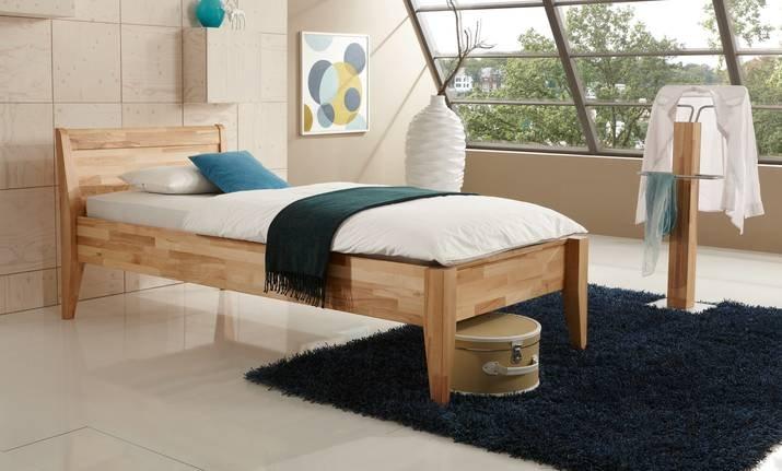 Komfortbett Massivholz 450.03 von Dico