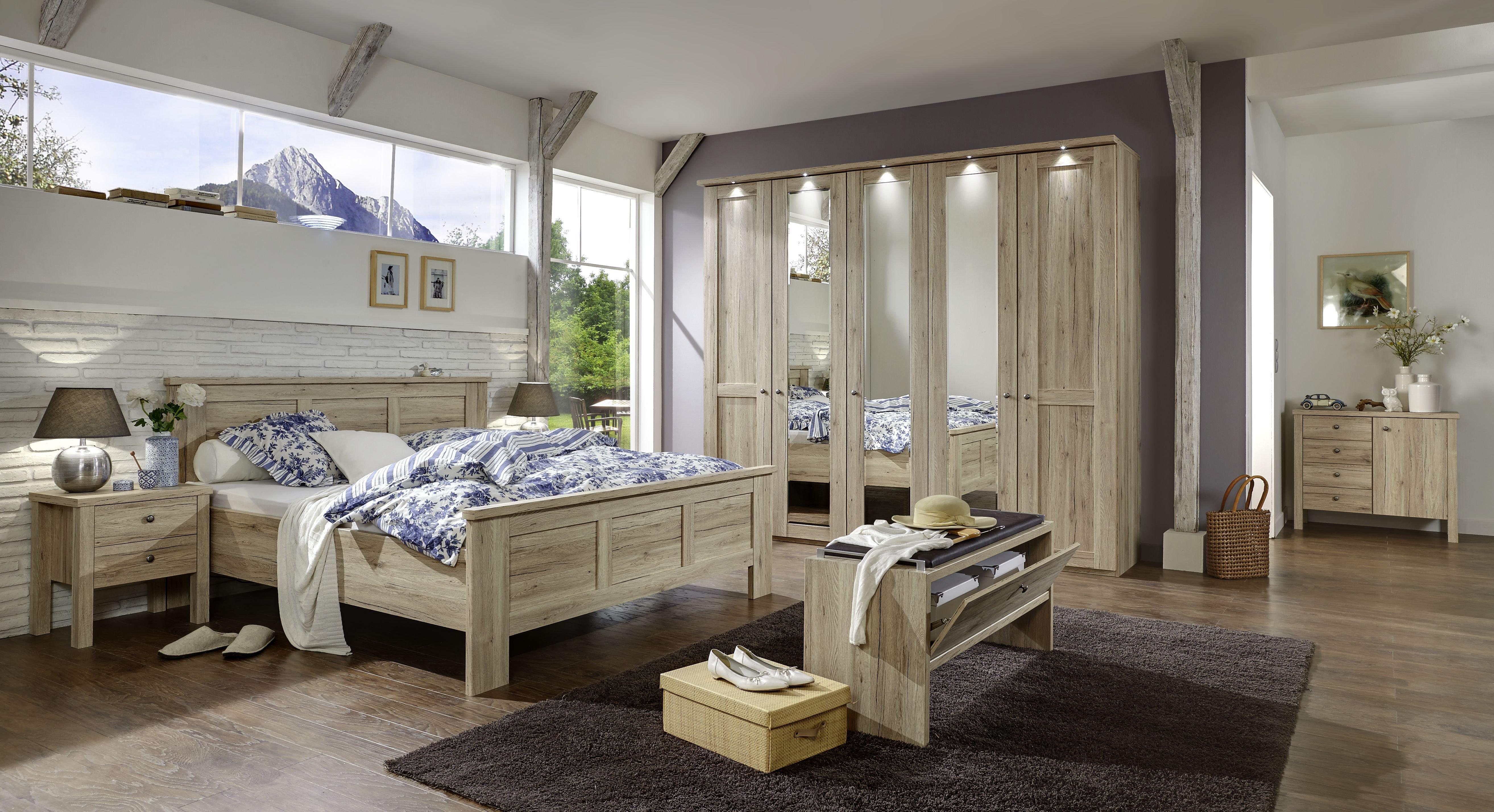 Schlafzimmer Bergamo von Wiemann Möbel