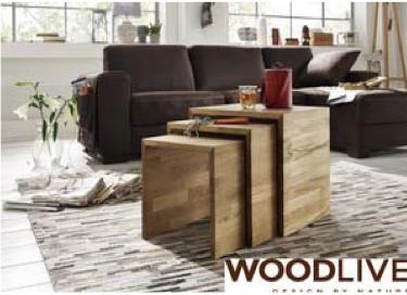 Dreisatztisch Triple von Woodlive