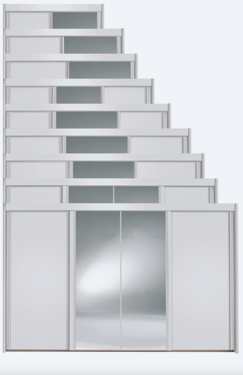 Schwebetürenschrank- System Imperial von Rauch Dialog