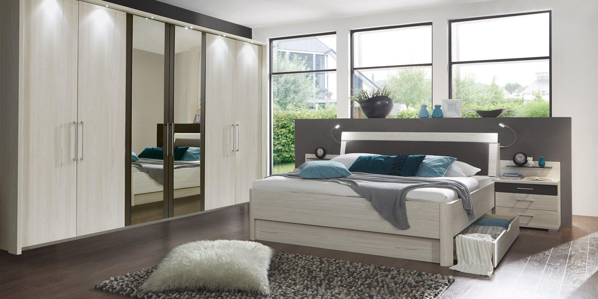 Schlafzimmer Lissabon Variante 2 von Wiemann Möbel