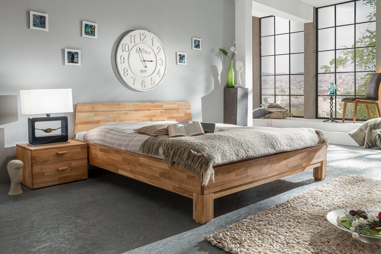 Massivholzbett Rivo von Living Home