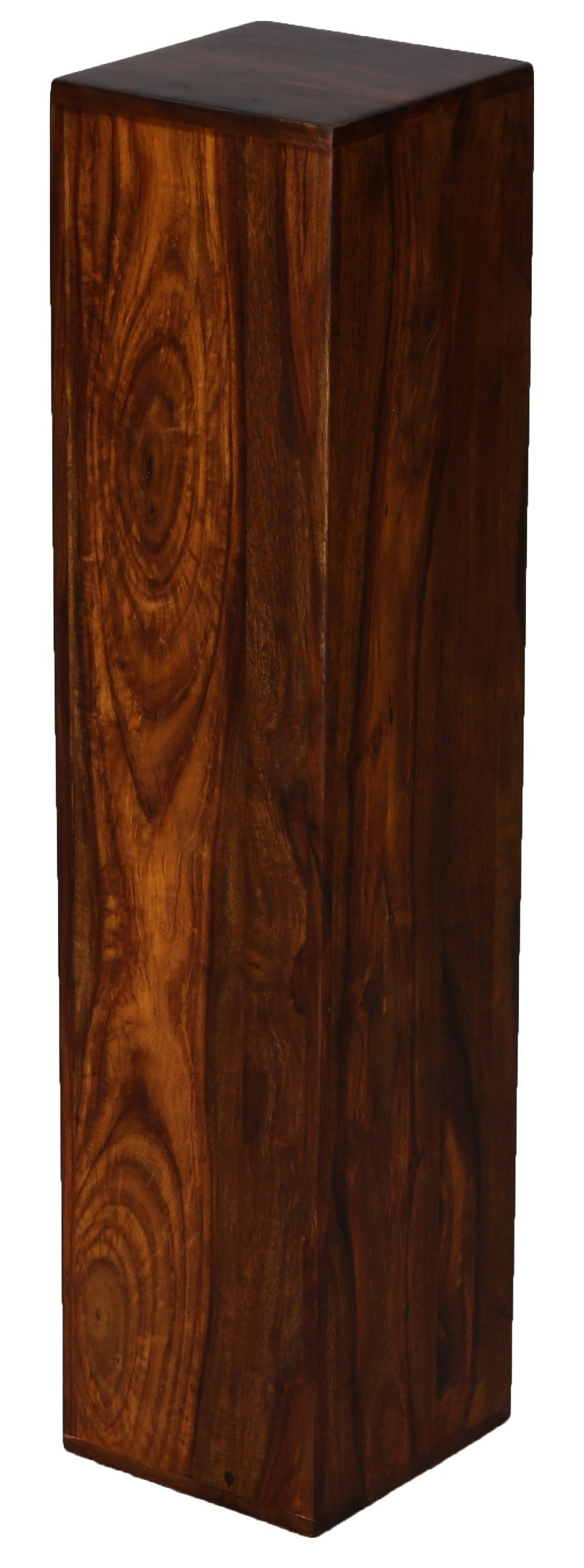 "Lampen- Blumensäule GAN-412 ""Indische Massiv- Holz- Möbel"""