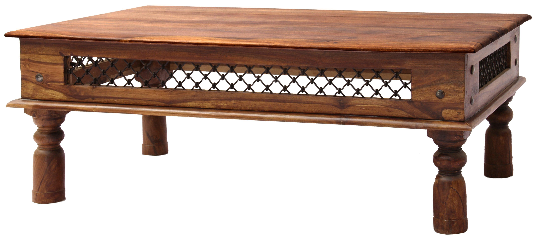 """Couchtisch GAN-703 """"Indische Massiv- Holz- Möbel"""""""