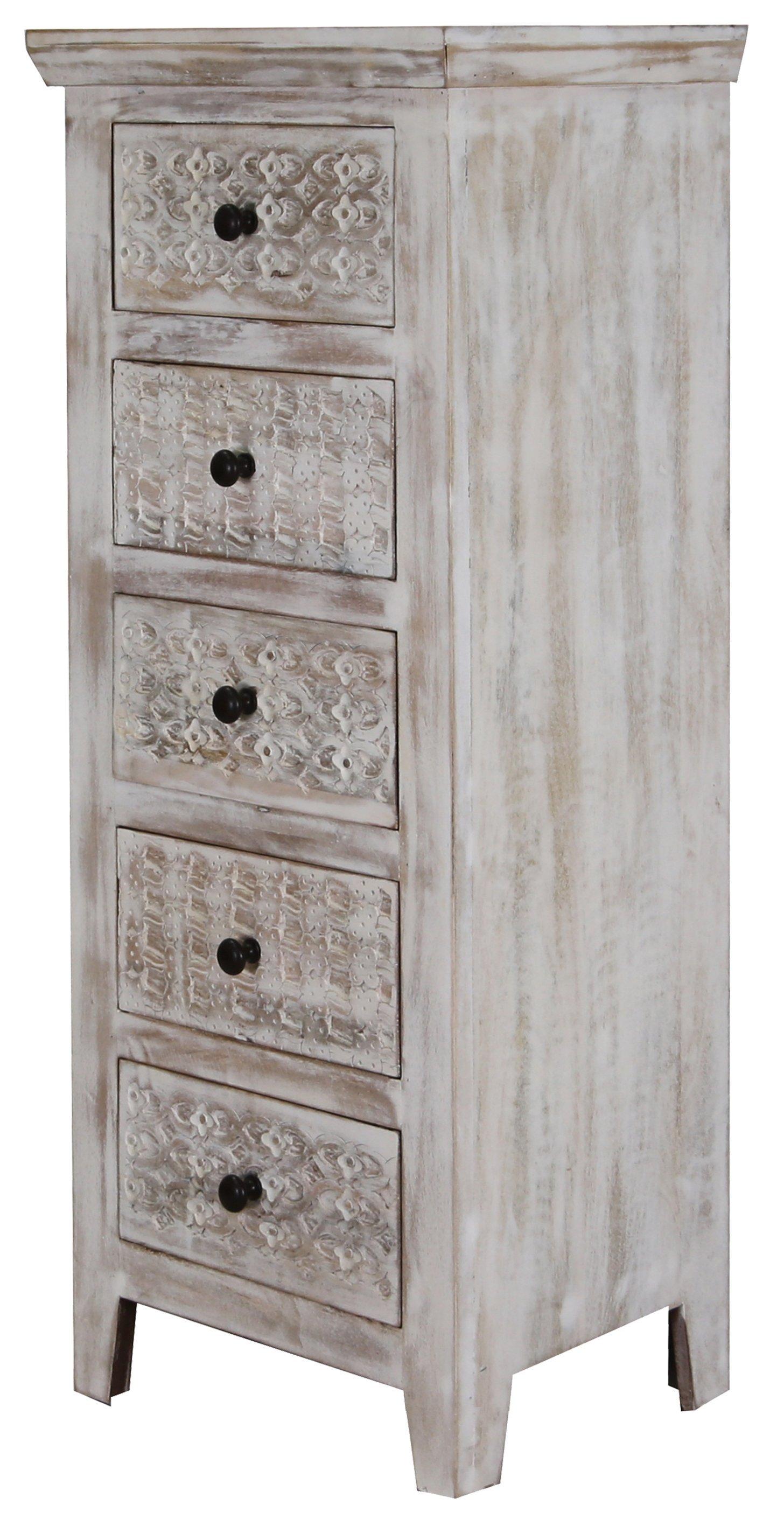 """Kommode MAN-903 """"Indische Massiv- Holz- Möbel von Jaipur"""""""