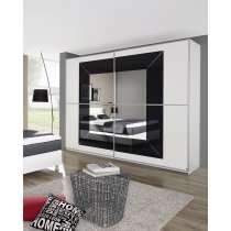 Schwebetürenschrank System Focus von Rauch Möbelwerke