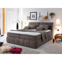 Boxspring Bett Toledo A 1 von Black Red Whithe