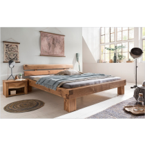 Massiv Holz Bett Timber von Woodlive