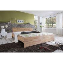 Massivholzbett Sava von Living Home