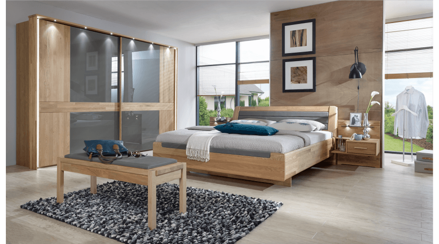 Schlafzimmer Buffalo von Wiemann Möbel