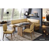 Echtleder Dining Sofa Phönix 161/1 echt Leder von Schösswender