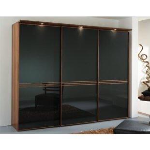 Sinfonie Plus Schwebetürenschrank 336 cm breit Front 4 von Staud Möbel