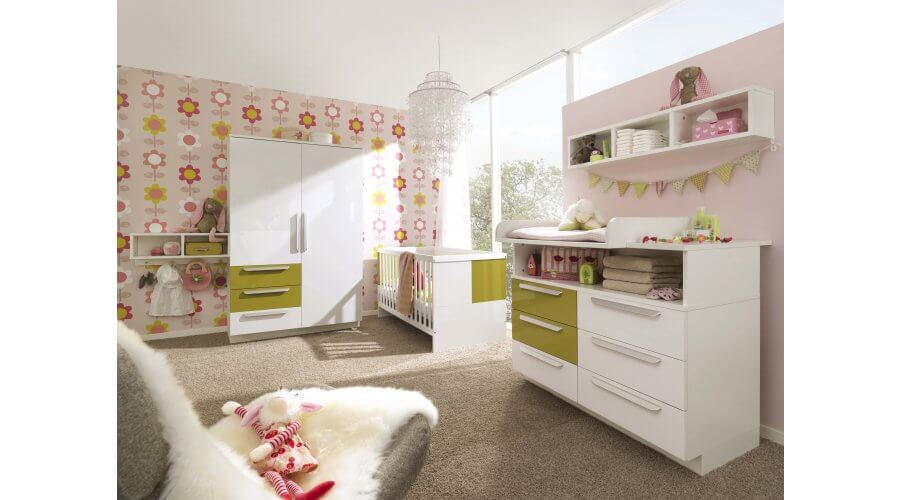 babyzimmer milla von wellem bel. Black Bedroom Furniture Sets. Home Design Ideas