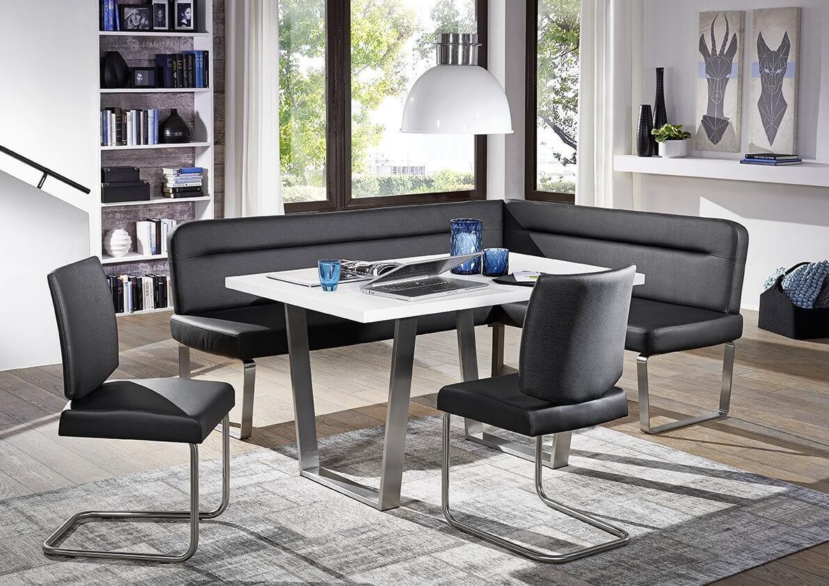 Dining Sofa Eckbank Ontario 100 echt Leder von Schösswender