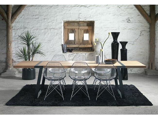 Esstisch gigant von canett furniture as for Design esstisch gigant wildeiche