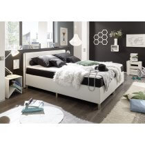 Boxspring Bett el Paso von Black Red Whithe