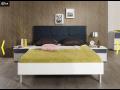 Bett System Elino mit Holzkopfteil 1 von Nolte Möbel