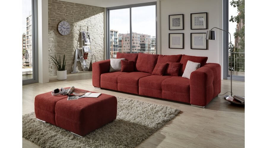 hocker big sofa beautiful bigsofa xxl marbeya x schwarz. Black Bedroom Furniture Sets. Home Design Ideas