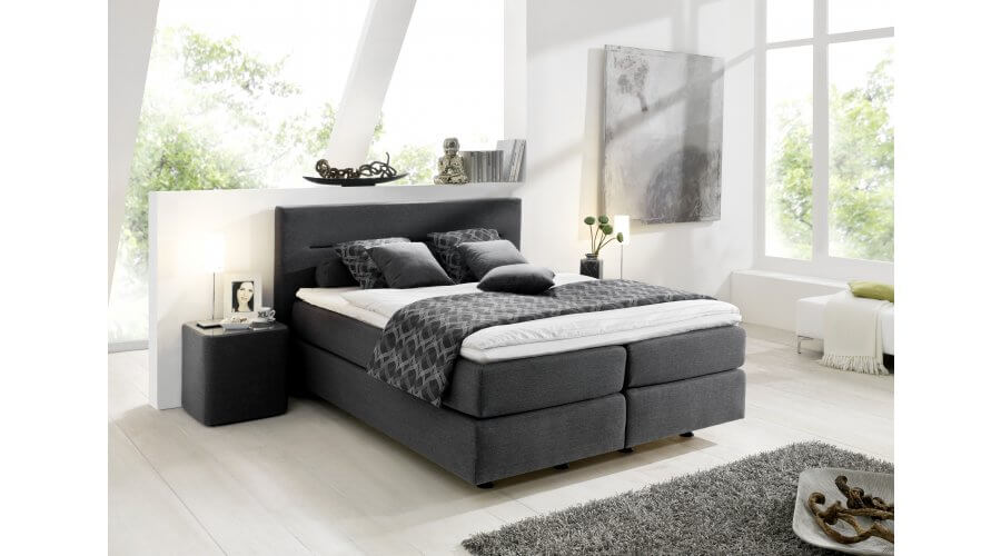 boxspring bett 2000 von oschmann. Black Bedroom Furniture Sets. Home Design Ideas