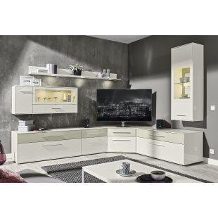 Wohnwand- Kombination Fino 9900 von Loddenkemper