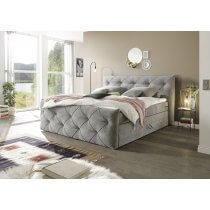 Boxspring Bett Tarragona von Black Red Whithe