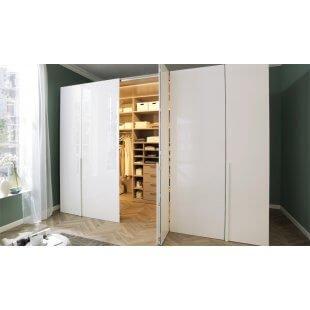 Begehbarer Falttüren- Kleiderschrank Ineo 343 cm von Welle Möbel