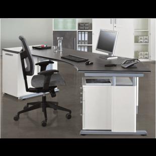 Schreibtisch-Kombi aus objekt plus von Röhr Bush