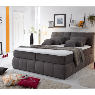 Boxspring Bett Baltimore von Black Red Whithe