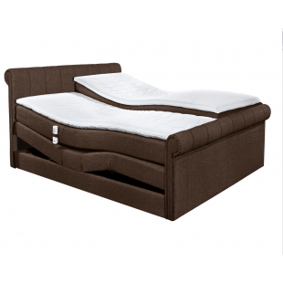 Boxspring Bett California D 1 mit Motor von Black Red Whithe