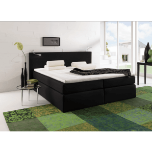 Boxspring Bett Santa Barbara von Black Red Whithe
