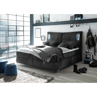 Boxspringbett Los Angeles von Black Red White