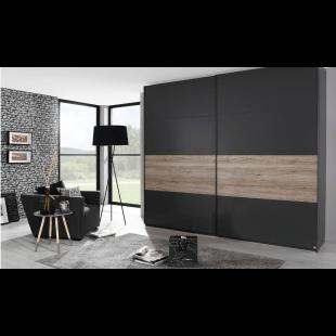 Schwebetürenschrank X-trend line-3 Absetzung  von Rauch Möbelwerke Dialog
