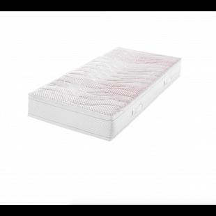 Frankenstolz BreathAir, 7-Zonen-Gelart-3D Fasergeflecht-Komfortschaumkern-Matratze