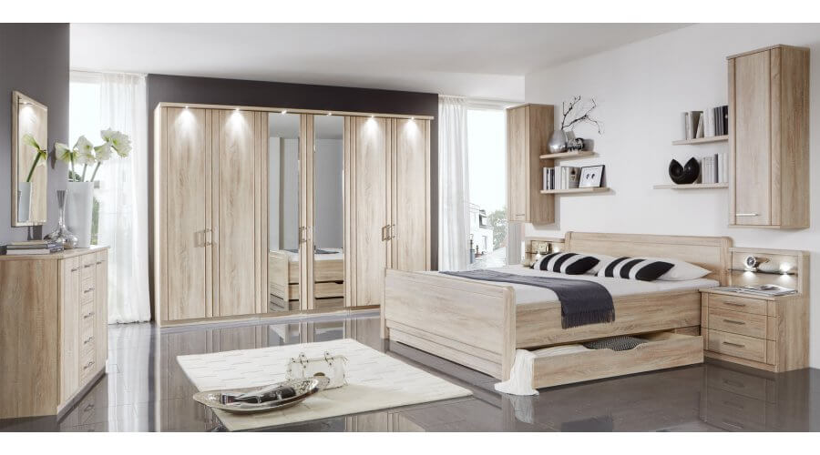 Schlafzimmer Valencia von Wiemann Möbel