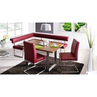 Echt Leder Dining Sofa Eckbank Hydra von Schösswender