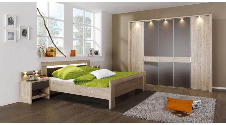 Schlafzimmer donna for Schlafzimmer bild a ber bett