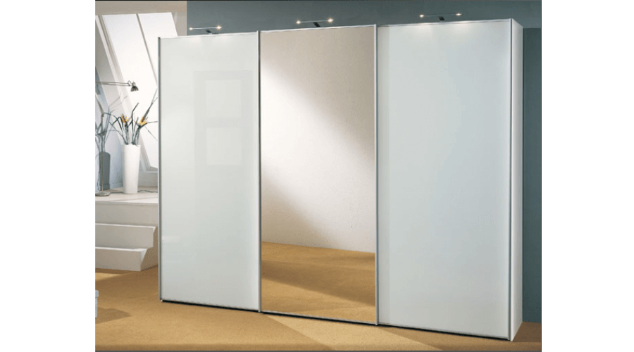 Sinfonie Plus Panoramaschrank 373 cm breit Front 1 Staud Möbel