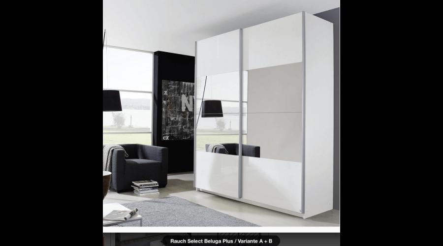 schwebet renschrank system beluga plus 315 cm von rauch m bel. Black Bedroom Furniture Sets. Home Design Ideas