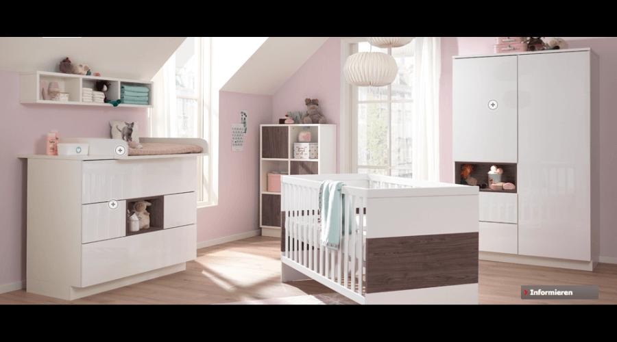Babyzimmer Malie von Wellemöbel