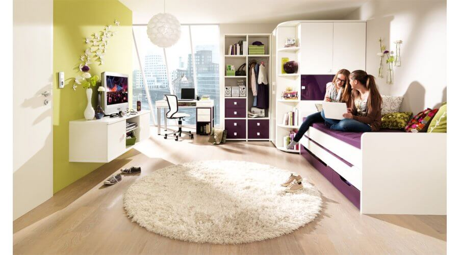 jugendzimmer unlimited von wellem bel. Black Bedroom Furniture Sets. Home Design Ideas