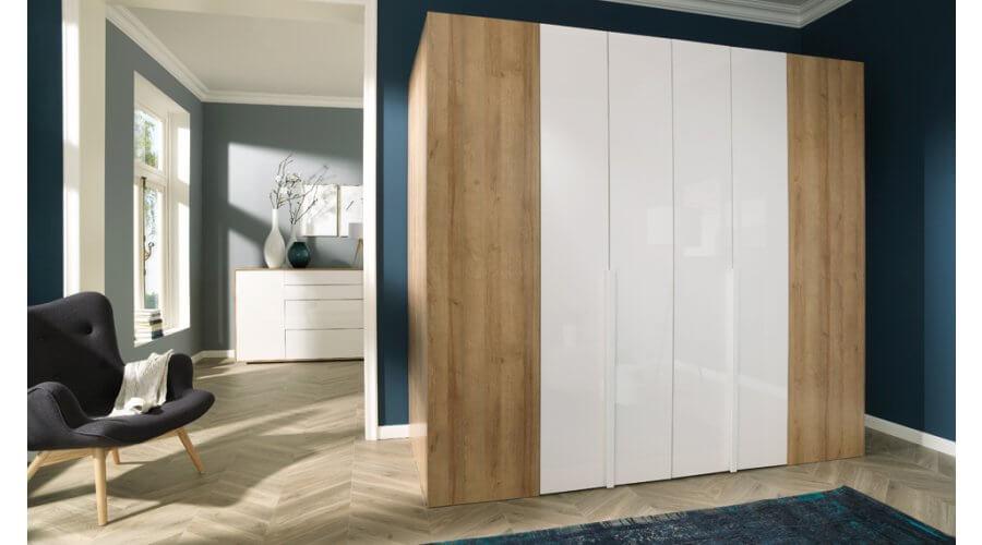 Begehbarer Falttüren- Kleiderschrank Ineo 245 cm von Welle Möbel
