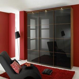 Sinfonie Plus Schwebetürenkleiderschrank 150 cm breit Front 3 von Staud Möbel