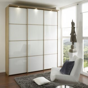 Sinfonie Plus Schwebetürenkleiderschrank 113 cm breit Front 3 von Staud Möbel